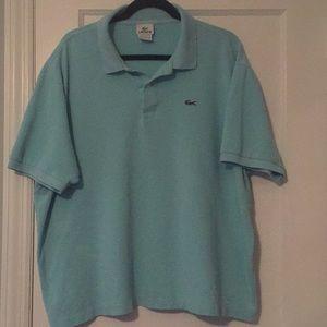 Lacoste pique cotton polo shirt size 9/4XL